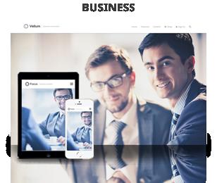 screenshot business - Vellum - Responsive WordPress Theme