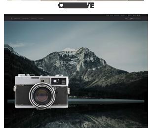screenshot creative - Vellum - Responsive WordPress Theme