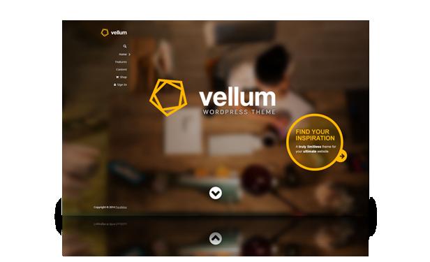 screenshot default large - Vellum - Responsive WordPress Theme