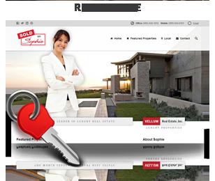 screenshot real estate - Vellum - Responsive WordPress Theme