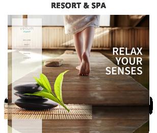 screenshot resort - Vellum - Responsive WordPress Theme