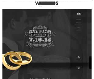 screenshot wedding - Vellum - Responsive WordPress Theme