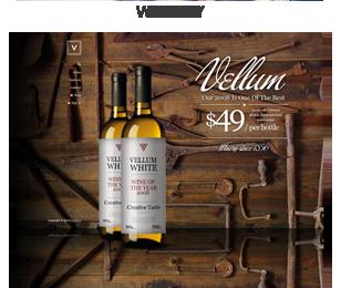 screenshot wine - Vellum - Responsive WordPress Theme