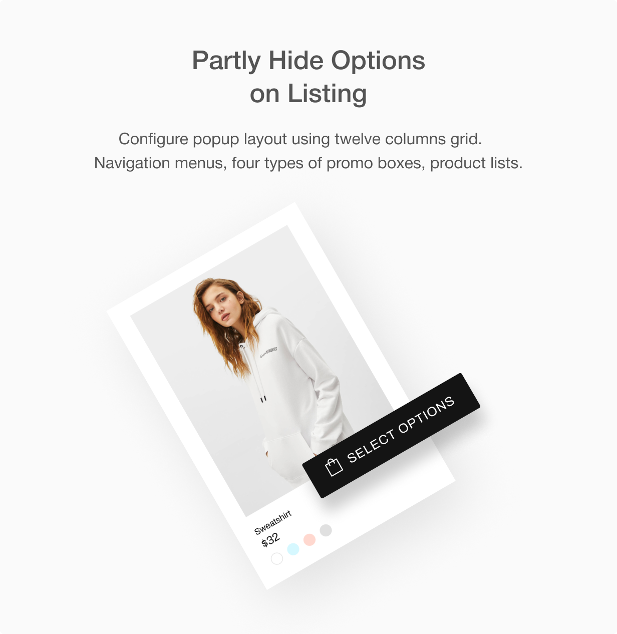 select options - Shella - Multipurpose Shopify theme, fastest with the banner builder