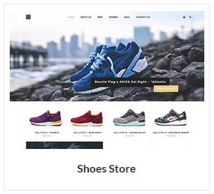shoes store woocommerce theme - Nitro - Universal WooCommerce Theme from ecommerce experts