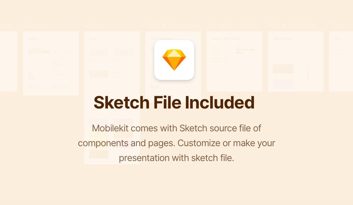 sketch3 - Mobilekit - Bootstrap 4 Based HTML Template