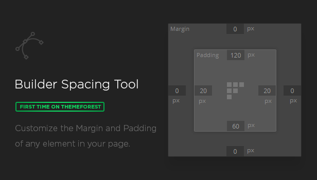 spacing tool - MEGAPACK – Marketing HTML Landing Pages Pack + PixFort Page Builder Access
