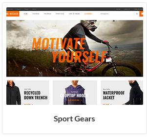 sport gears woocommerce theme - Nitro - Universal WooCommerce Theme from ecommerce experts
