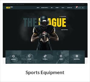 sport woocommerce theme - Nitro - Universal WooCommerce Theme from ecommerce experts