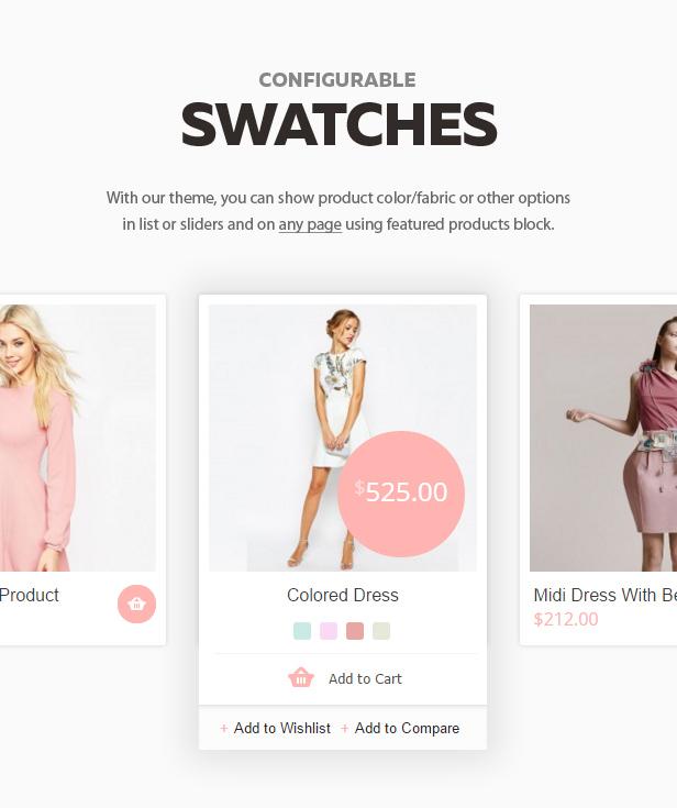 swatches - Shopper - Magento Theme, Responsive & Retina Ready