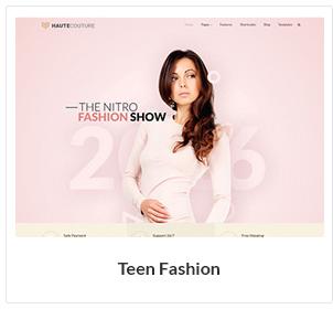 teen fashion woocommerce theme - Nitro - Universal WooCommerce Theme from ecommerce experts