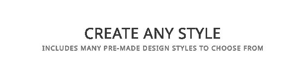 title create any style - Vellum - Responsive WordPress Theme