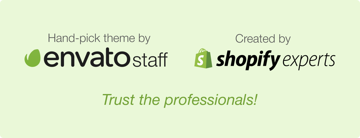 trust the envato and shopify new - Shella - Multipurpose Shopify theme, fastest with the banner builder