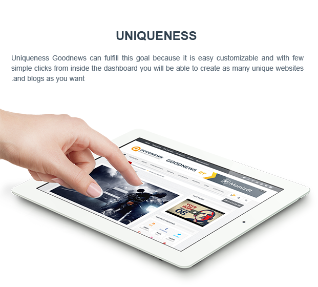 uniq - Goodnews – Responsive WordPress News/Magazine