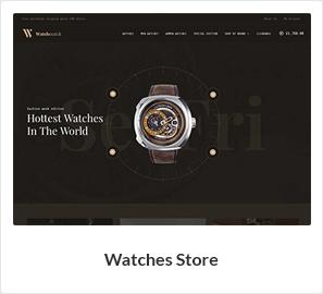 watches woocommerce theme - Nitro - Universal WooCommerce Theme from ecommerce experts
