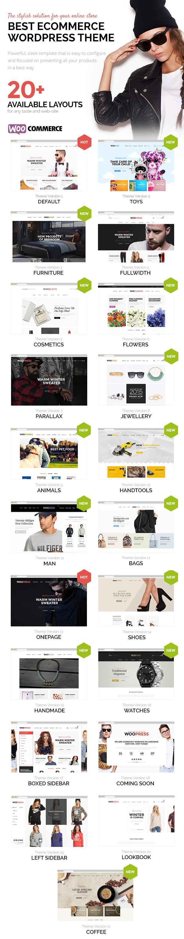 01 - WooPress - Responsive Ecommerce WordPress Theme