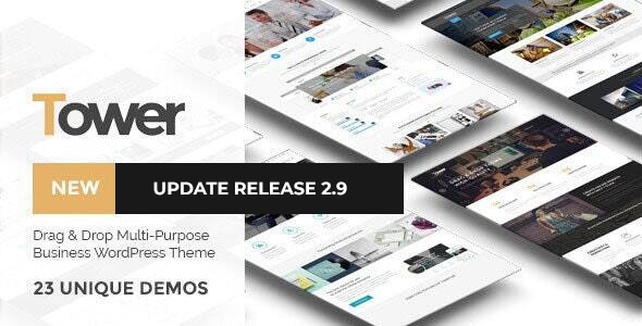01 banner.  large preview - Tower | Business WordPress