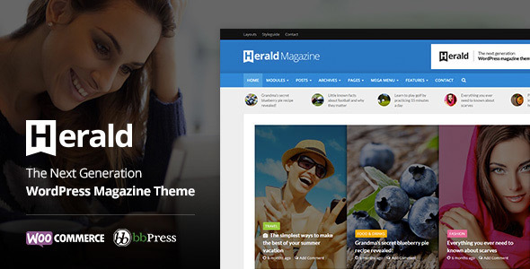 01 herald.  large preview - Herald - Newspaper & News Portal WordPress Theme
