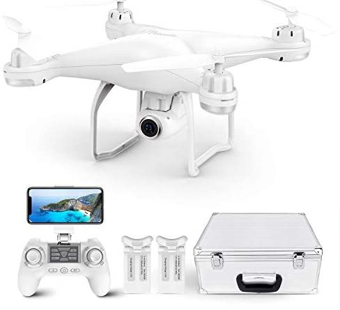 1607051899 41NbdEkCExL. AC  488x445 - Potensic T25 GPS Drone, FPV RC Drone with Camera 1080P HD WiFi Live Video, Auto Return Home, Altitude Hold, Follow Me, 2 Batteries and Carrying Case