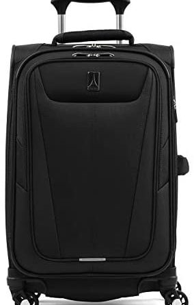 1607629160 41eauZhm3FL. AC  284x445 - Travelpro Maxlite 5-Softside Expandable Spinner Wheel Luggage, Black, Carry-On 21-Inch