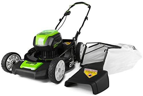 1607938959 41XT5 E7ZpL. AC  - Greenworks 2502202 Pro 21-Inch 80V Push Cordless Lawn Mower, Battery and Charger Not Included