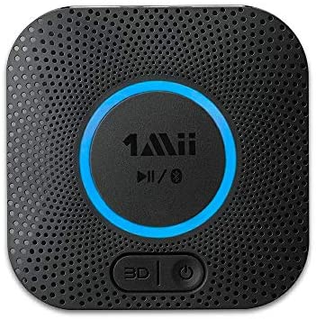 1608212489 51WjldQ1SOL. AC  - [Upgraded] 1Mii B06 Plus Bluetooth Receiver, HIFI Wireless Audio Adapter, Bluetooth 5.0 Receiver with 3D Surround aptX Low Latency for Home Music Streaming Stereo System