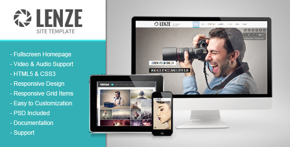 1608948273 931 theme preview.  large preview - Lenze - Portfolio Photography HTML Template