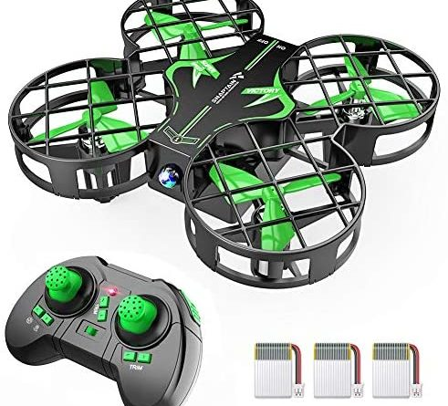1609145663 51kjhgzZ6yL. AC  491x445 - SNAPTAIN H823H Mini Drone for Kids, RC Pocket Quadcopter with Altitude Hold, Headless Mode, 3D Flip, Speed Adjustment and 3 Batteries-Green