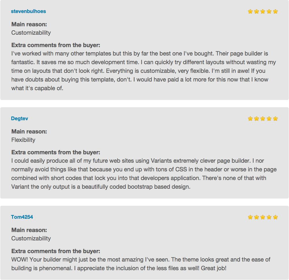 3 pivot reviews dec 2014 - Pivot | Multi-Purpose HTML with Page Builder