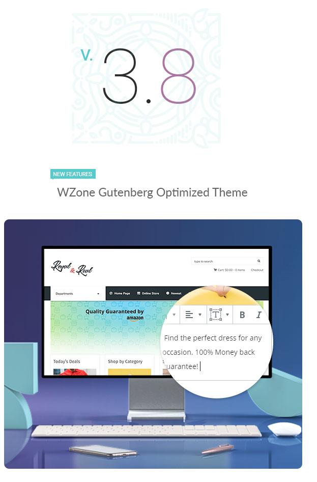 3.8 - Kingdom - WooCommerce Amazon Affiliates Theme