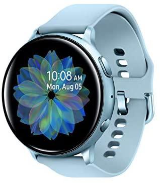413ZCtOSJtL. AC  - Samsung Galaxy Watch Active 2 (44mm, GPS, Bluetooth), Silver (US Version)