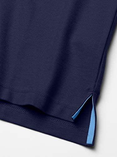 41B5BnslUYL. AC  - IZOD Men's Advantage Performance Short Sleeve Solid Polo