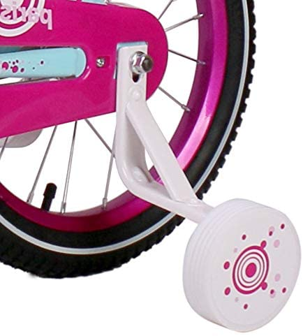 """41D0yk27PsL. AC  - JOYSTAR Paris Girl's Bike for Ages 3-9 Years Old, Children Bike with Training Wheels for 12"""" 14"""" 16"""" 18"""" Kid's Bike, Kickstand for 18"""" Kids Bicycle"""