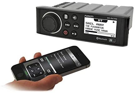41GJfiBeXUL. AC  - Fusion MS-RA70N Stereo with 4x50W AM/FM/Bluetooth 2-Zone USB NMEA 2000 Fusion Link Wireless Control for Fusion Link App