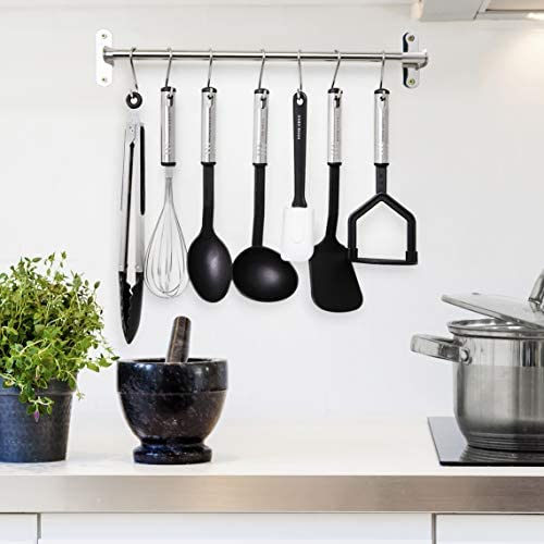 41bf3gKAsoL. AC  - Home Hero Kitchen Utensil Set - 23 Nylon Cooking Utensils - Kitchen Utensils with Spatula - Kitchen Gadgets Cookware Set - Kitchen Tool Set