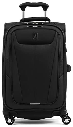 41eauZhm3FL. AC  - Travelpro Maxlite 5-Softside Expandable Spinner Wheel Luggage, Black, Carry-On 21-Inch
