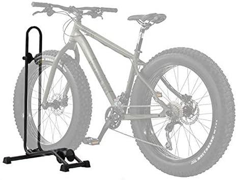 41pxKKqp+1L. AC  - BIKEHAND Bicycle Floor Type Parking Rack Stand - for Mountain and Road Bike Indoor Outdoor Nook Garage Storage - for Fat Tire