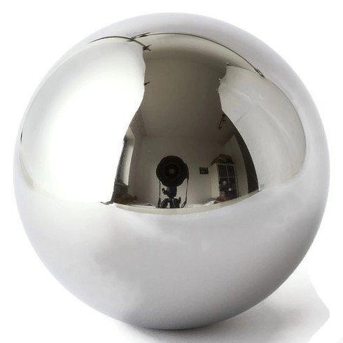 "41rwQnNlA4L - Five 1-1/16"" Inch Mirror Finish Carbon Steel Replacement Pinball Machine Balls"