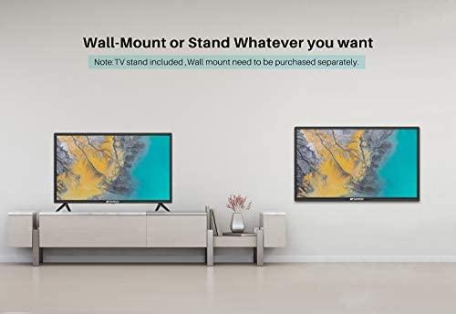 41zMk25ISkL. AC  - SANSUI 24 Inch TV 720P Basic S24 LED HD TV High Resolution Flat Screen Television Built-in HDMI,USB,VGA Ports - Refresh Rate 60Hz (2020 Model)…