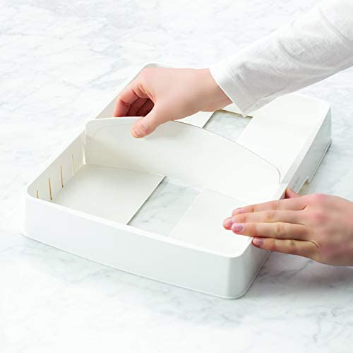 41zh3tVw9 L. AC  - YouCopia StoraLid Food Container Lid Organizer, Large, White