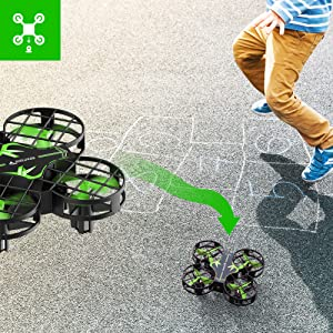 48f30c1e 80a7 473d 8321 2affde937155.  CR0,0,1001,1001 PT0 SX300 V1    - SNAPTAIN H823H Mini Drone for Kids, RC Pocket Quadcopter with Altitude Hold, Headless Mode, 3D Flip, Speed Adjustment and 3 Batteries-Green
