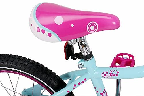 """51AMEMfCbsL. AC  - JOYSTAR Paris Girl's Bike for Ages 3-9 Years Old, Children Bike with Training Wheels for 12"""" 14"""" 16"""" 18"""" Kid's Bike, Kickstand for 18"""" Kids Bicycle"""