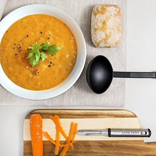 51CLOeG0GUL. AC  - Home Hero Kitchen Utensil Set - 23 Nylon Cooking Utensils - Kitchen Utensils with Spatula - Kitchen Gadgets Cookware Set - Kitchen Tool Set