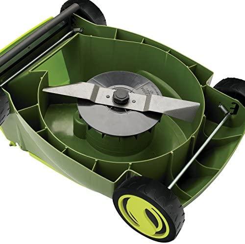 "51OTWsldPNL. AC  - Sun Joe MJ401E-PRO 14 inch 13 Amp Electric Lawn Mower w/Side Discharge Chute, 14"", Green"