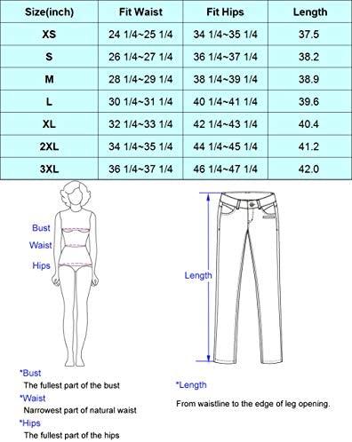 51SfNvagEUL. AC  - GRACE KARIN Women's Cropped Paper Bag Waist Pants with Pockets