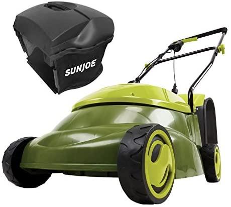 "51aZMrxw 5L. AC  - Sun Joe MJ401E-PRO 14 inch 13 Amp Electric Lawn Mower w/Side Discharge Chute, 14"", Green"