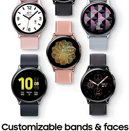 51iTR2POUCL. AC  - Samsung Galaxy Watch Active 2 (44mm, GPS, Bluetooth), Silver (US Version)