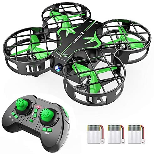 51kjhgzZ6yL. AC  - SNAPTAIN H823H Mini Drone for Kids, RC Pocket Quadcopter with Altitude Hold, Headless Mode, 3D Flip, Speed Adjustment and 3 Batteries-Green