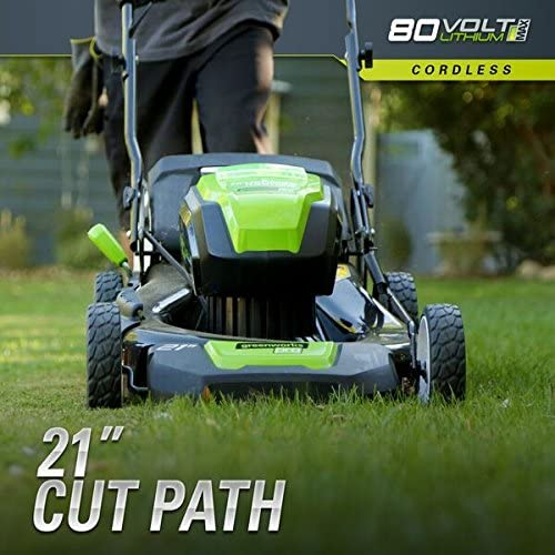 51m+sHKq5iL. AC  - Greenworks 2502202 Pro 21-Inch 80V Push Cordless Lawn Mower, Battery and Charger Not Included