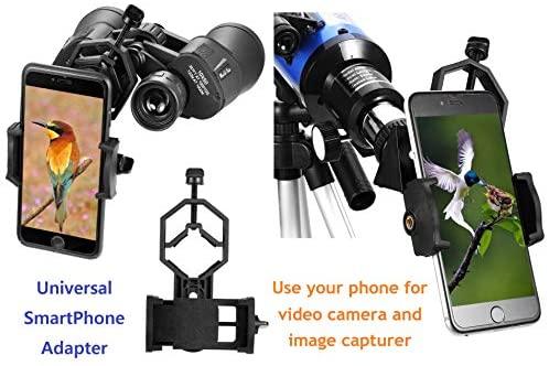 51s2wyUfefL. AC  - MaxUSee Travel Telescope with Backpack - 70mm Refractor Telescope & 10X50 HD Binoculars Bak4 Prism FMC Lens for Moon Viewing Bird Watching Sightseeing